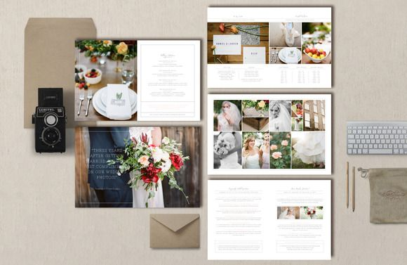 Photographer Magazine Template by Bittersweetdesignboutique on @creativemarket