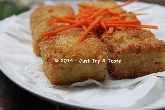 Nugget Ayam dengan Wortel: It's Homemade! | Just Try & Taste