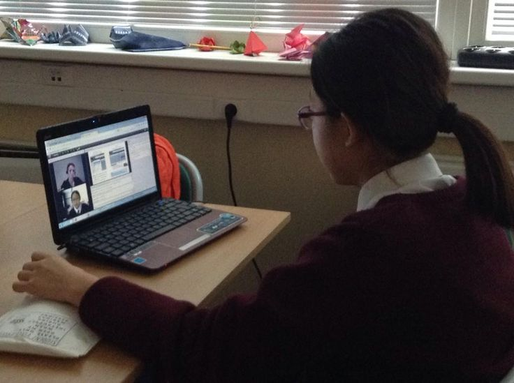 Student Voice Leader's first web conference with other NA student leaders