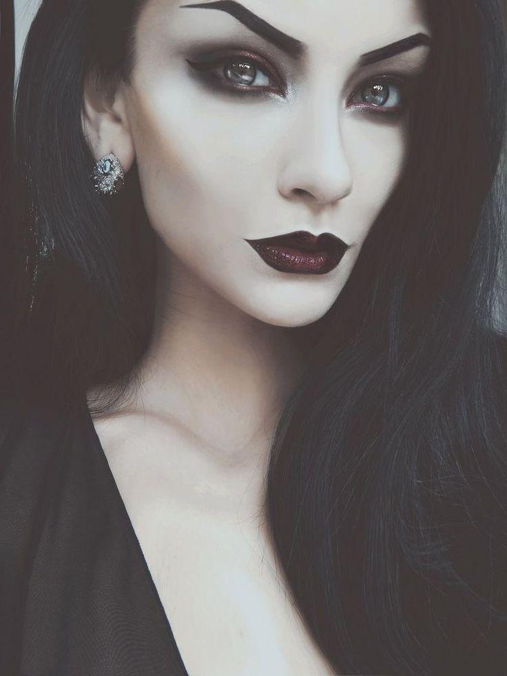 связано тем, хэллоуин ведьма макияж фото как