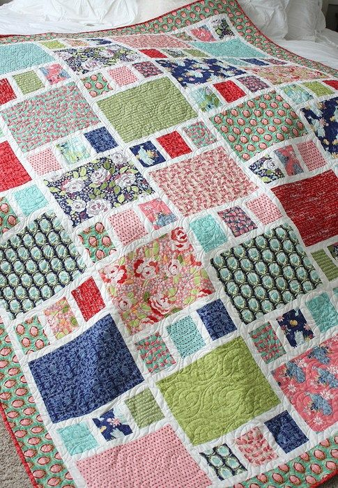 easy machine quilting patterns