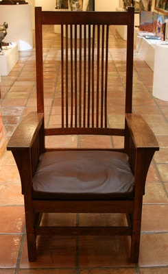 Furniture   Mission Chair