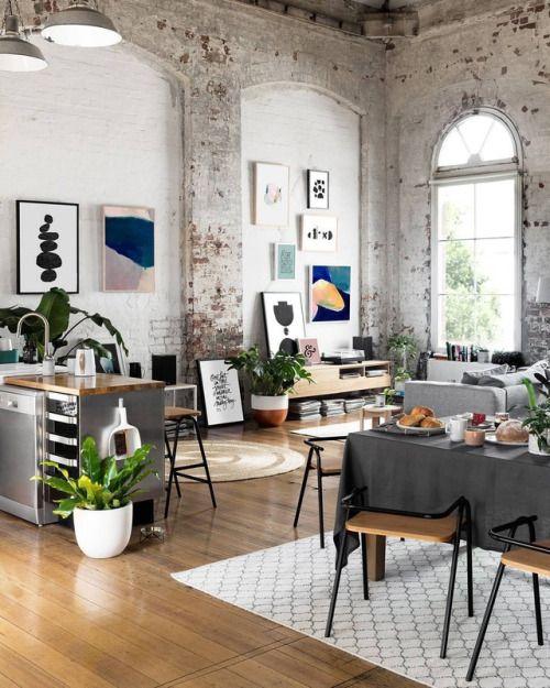 die besten 25 loft einrichtung ideen auf pinterest loft. Black Bedroom Furniture Sets. Home Design Ideas