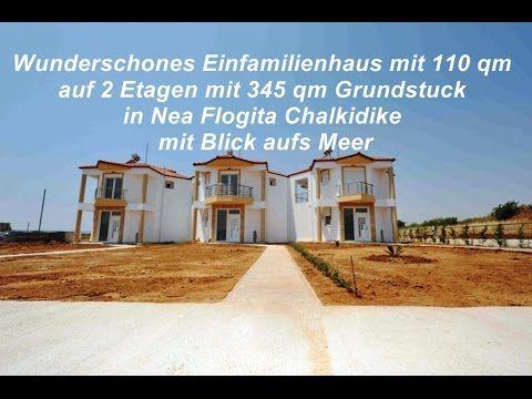 Ferienhaus mit 110 qm Flogita Chalkidiki