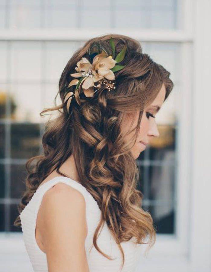 Coiffure mariée pour visage long - Les plus jolies coiffures de mariées pour s'inspirer - Elle
