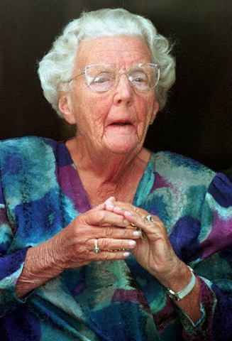 16 Sep 1998, Amsterdam, Netherlands --- Former Dutch Queen Juliana died March 20, 2004 at the age of 94, the state information service has said in a brief statement. She died at 5:50 a.m. (0450 GMT) in the Soestdijk palace where she lived.