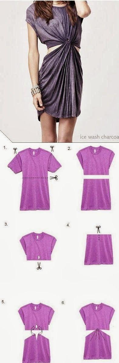 TOP DIY PROJECTS: Diy Shirt Dress
