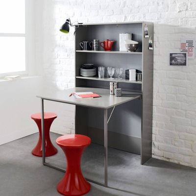 17 meilleures id es propos de table escamotable sur for Meuble cuisine table integree