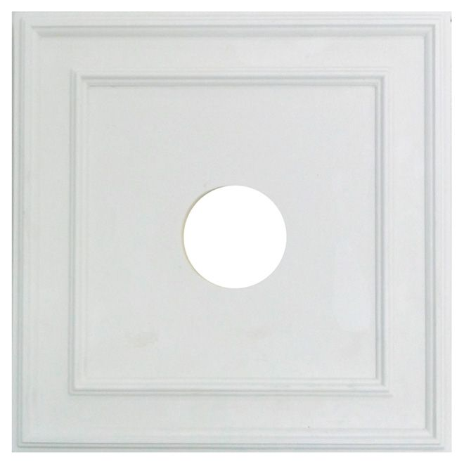 Polyurethane Square Ceiling Medallion