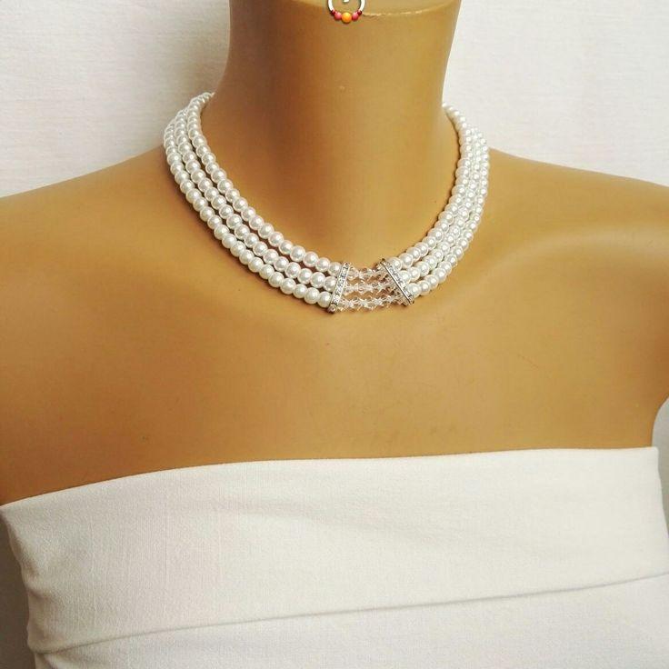 Kristályos menyasszonyi ékszerszett, bridal jewelry, wedding jewelry