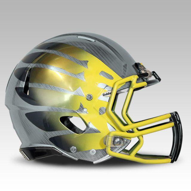 Oregon Ducks Sonic Boom Helmet #GoDucks These helmets are too cool.