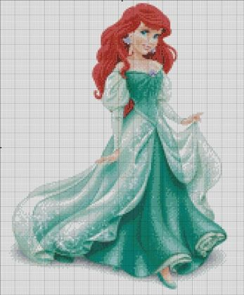 Ariel: The 4th princess of Disney Princess franchise. The other charts in Disney Princess line: Snow White Cinderella Aurora Belle Jasmine Pocahontas Mulan Tiana Rapunzel Mérida I do this as a...