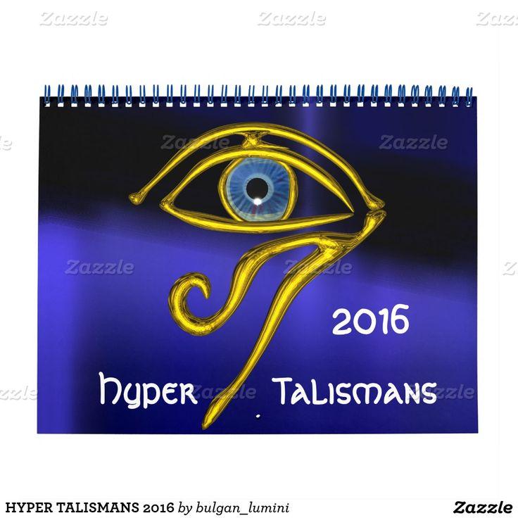 HYPER TALISMANS 2016 CALENDAR