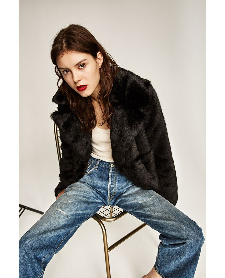 les 25 meilleures id es de la cat gorie manteau femme fausse fourrure chic  sur pinterest eb600241bb2