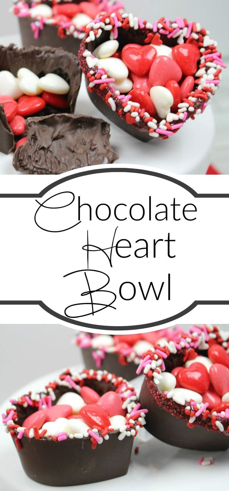 The perfect Valentine's Day Treat – Valentine's Day Chocolate Heart Bowls