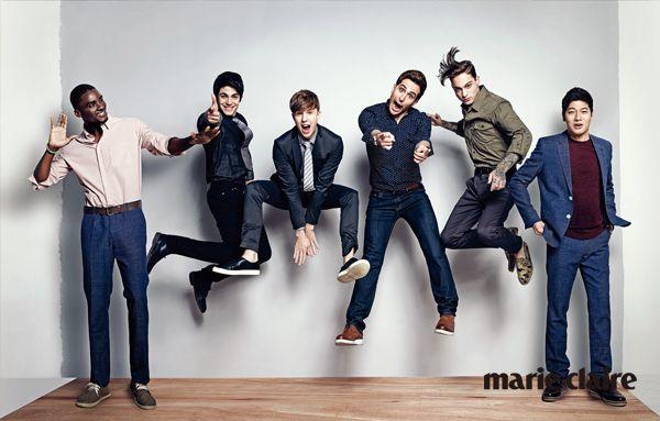 Abnormal Summit cast in Marie Claire magazine