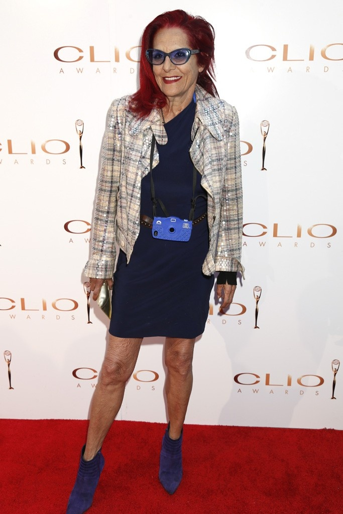 Patricia Field at the Clio Awards