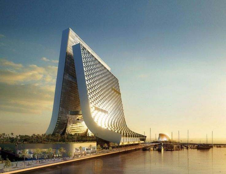 Marina - Beach Towers by Oppenheim Architecture | wordlessTech