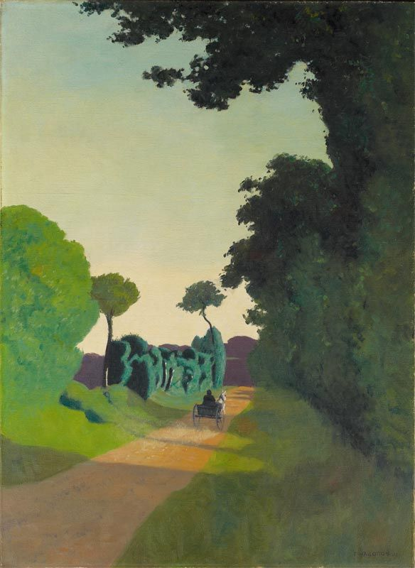 "amare-habeo: "" Félix Vallotton - Dray Cart (La charrette), 1911 Villa Flora, Winterthur, Swithzerland """
