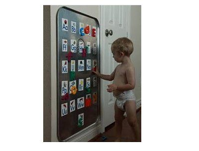 Great idea for the boys rooms!