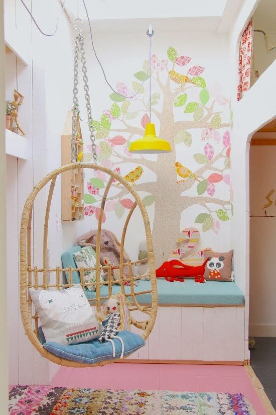 Nice spot, nice seat....the boo and the boy: eclectic kids' rooms