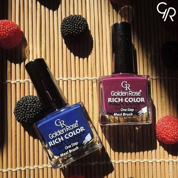 Rich Color serisi ile en trend ve en yoğun renkler tırnaklarında. Senin favorin hangisi? http://www.goldenrosestore.com.tr/rich-color-nail-lacquer.html
