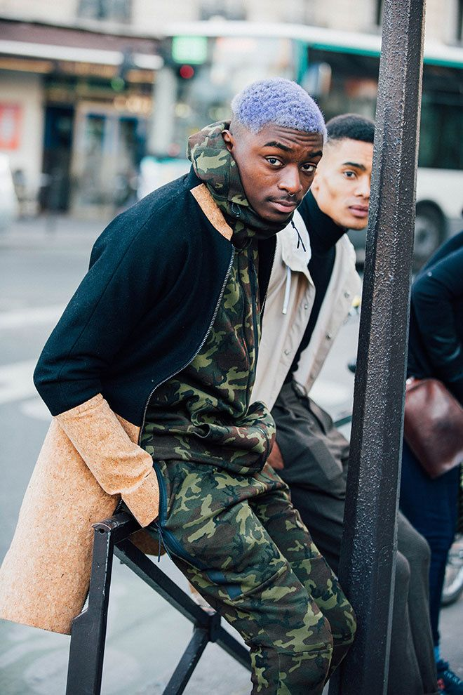 Paris Fash Week Street Snap