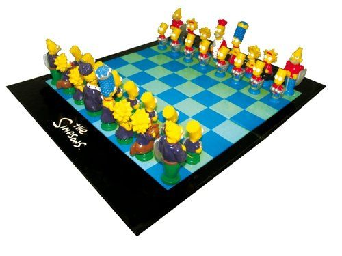 Tablero de Ajedrez Los Simpsons    The Simpsons Juego de Ajedrez Ajedrez para Sin clasificar  Standard  Cartón  Juego de Ajedrez de Los Simpsons de United Labels.   #Ajedrez #ajedrez de colecion #Ajedrez para niños #Schachspiel #Simpsons #tablero de ajedrez