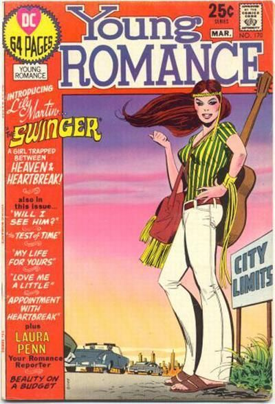 Desparation of looking for love in all the wrong places. Hope she can play that guitar though. The hippy culture was co-opted, sold, bottled, and commercialized, ruined of course, by the mid 1970's.