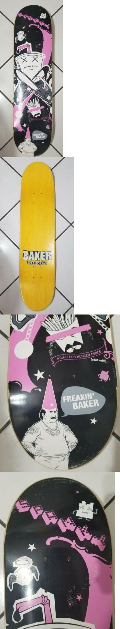 Decks 16263: Nos Spanky Aqua Teen Hunger Force Baker Skateboards Deck -> BUY IT NOW ONLY: $85 on eBay!