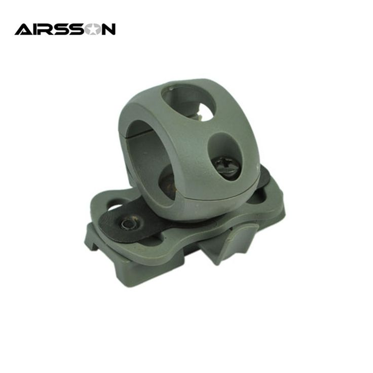 Airsoft Tactical 21mm Helmet Clamp Adaptor For Fast Helmet Army Cycling Men Outdoor Sports Bicycle Skate Hunting Casco Capacete