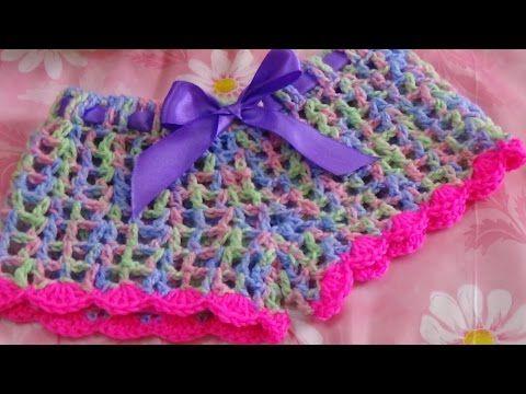 Very Easy Crochet Short-2 - YouTube