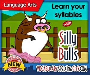 Looking for literacy games for young learners? VocabularySpellingCity offers a number of activities to help build early literacy skills, including Spelling TeachMe, Missing Letter, Alphabetize and all of our Phonics games!