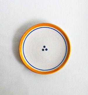tanier malý - klasik (modro-žltý)