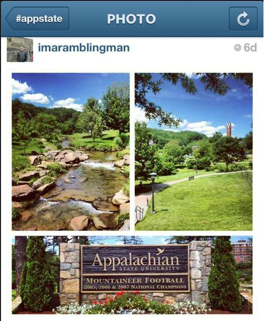 Durham Park, Appalachian State University Appalachian