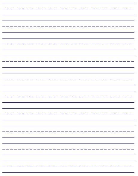 Custom handwriting paper