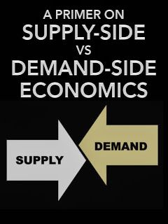 "A Primer on Supply-Side vs Demand-Side Economics. Absolutely every large-scale forecast made by promoters of Supply Side Economics failed -- diametrically -- without major exception. The uber-rich did not take their tax-break largesse and invest it in innovative/productive equipment. They poured it into either passive investments -- what Adam Smith derided as ""rent-seeking"" -- or else risky financial instruments and asset bubbles."