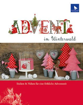 advent im winterwald stickbuch acufactum advent n hen. Black Bedroom Furniture Sets. Home Design Ideas