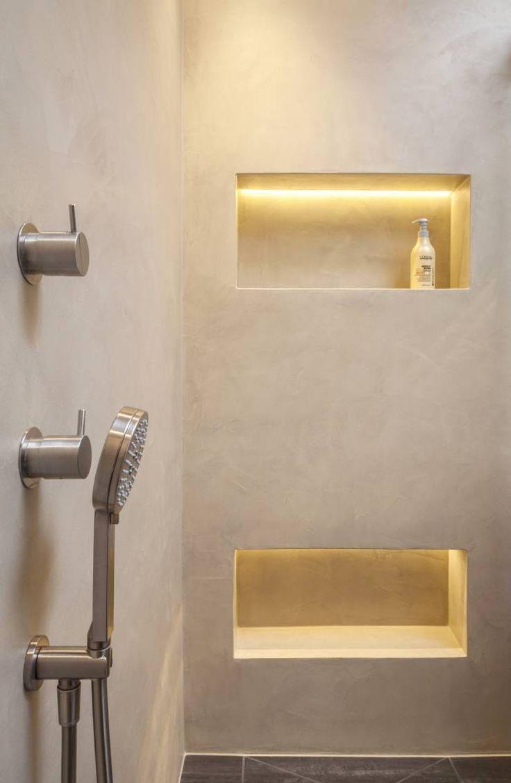 Fugenloses Bad mit Beton Cirè, Penthouse Köln von Einwandfrei – innovative Malerarbeiten oHG