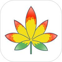 Vibin Weed Emoji Keyboard by Michelle Blair