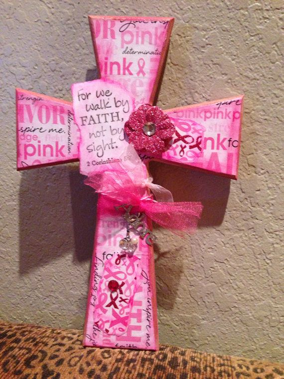 Hey, I found this really awesome Etsy listing at https://www.etsy.com/listing/199842294/breast-cancer-awareness-cross