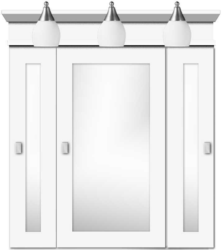 best 25 medicine cabinets with lights ideas on pinterest. Black Bedroom Furniture Sets. Home Design Ideas