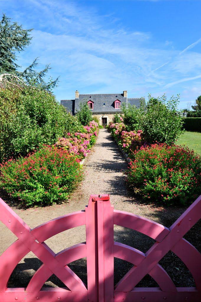 Petit coin de Paradis , Ile-de-Bréhat, Bretagne, Côtes d'Armor