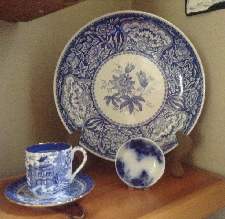 481 Best Images About Blue N White Dishes On Pinterest