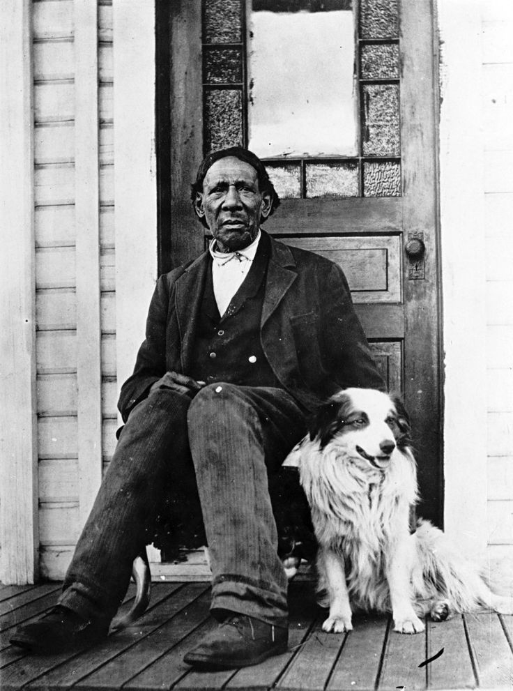 GEORGE WASHINGTON (1817-1905), former slave, son of an African American slave and a woman of English descent, came to the Oregon Territory with his former owner in 1850, to establish a farm. In 1875, George and his wife, Mary Jane Washington, founded the town of Centerville (now Centralia), in Lewis County in Southwest Washington.  (Oregon Historical Society) photo: circa 1900.