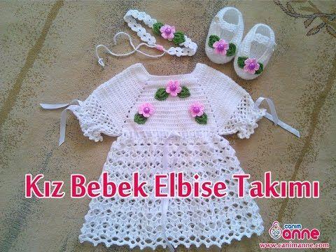 Bebek Elbise Takımının Patiğinin Yapılışı , Canım Anne - YouTube