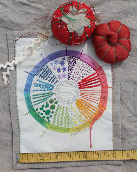 Color Wheel Sampler by Dropcloth