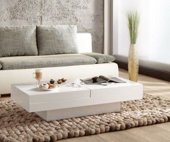102 best white is the new black images on pinterest for Couchtisch beige hochglanz