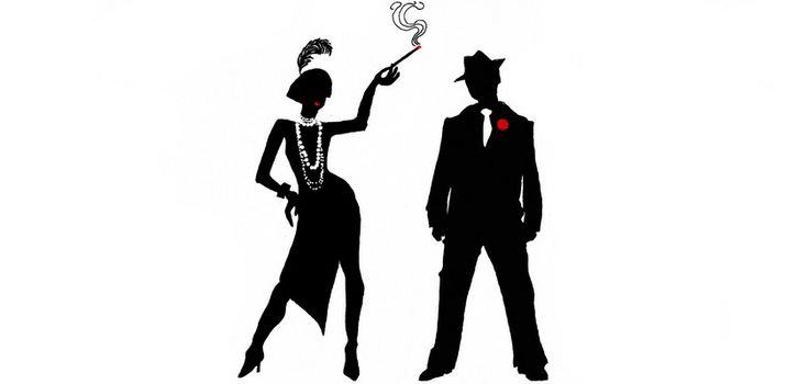 20's silhouettes imagery