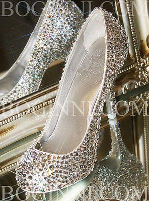 32 best Wedding shoes bling images on Pinterest